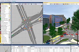 Traffic Simulation Model for Abu Dhabi Emirate